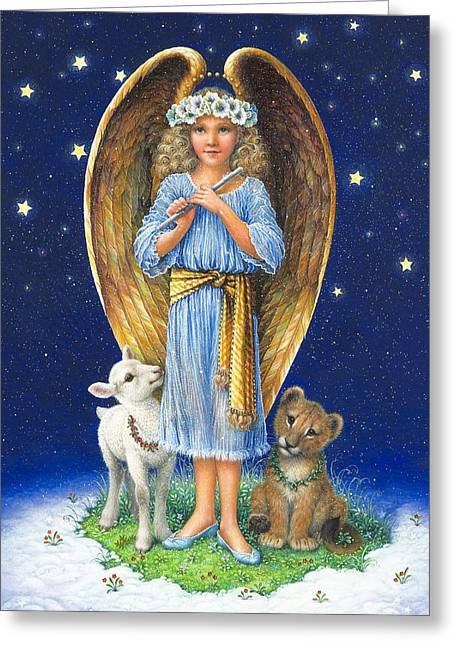 The Littlest Angel Greeting Card