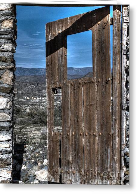 The Lockless Door Greeting Card by Heiko Koehrer-Wagner