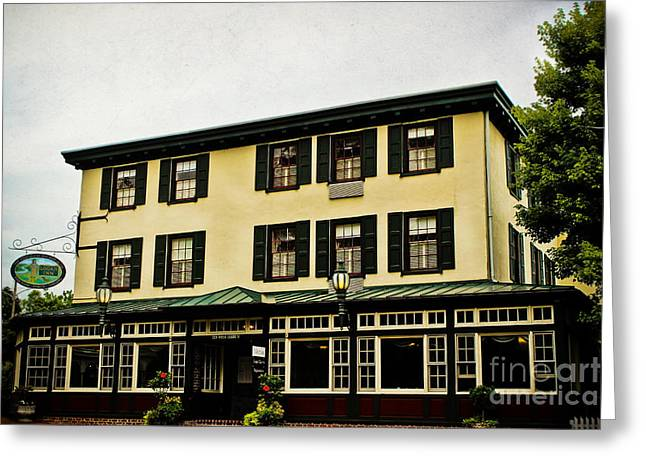 The Logan Inn Greeting Card by Colleen Kammerer