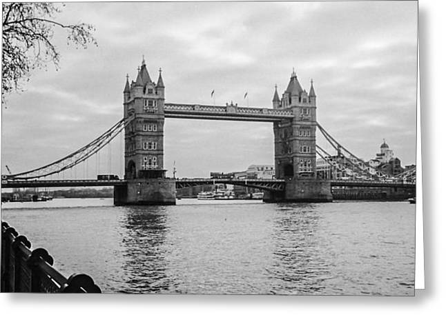 The London Bridge  Greeting Card by Steven  Taylor