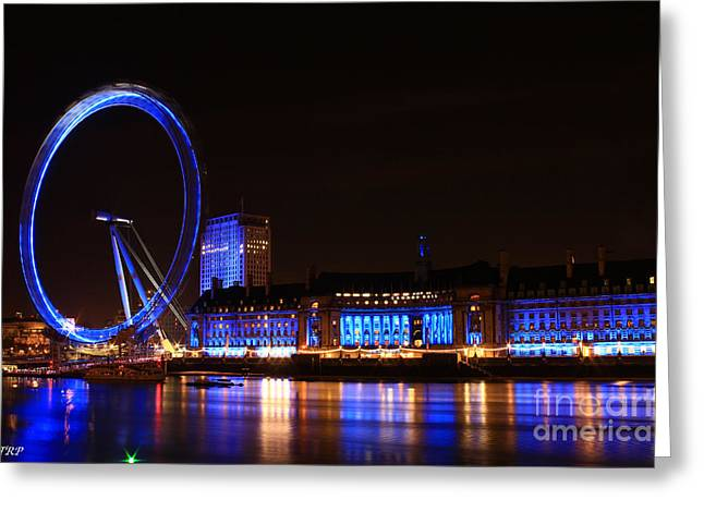 The London Eye  Greeting Card by Size X