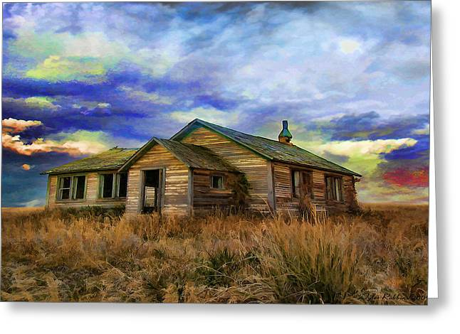 The Lonely House Greeting Card