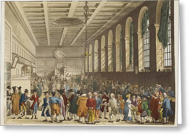 The Long Room Greeting Card by British Library