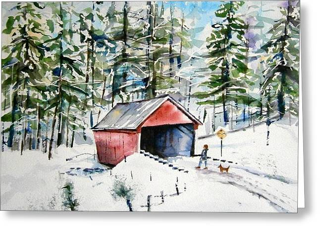 The Long Way Home Greeting Card by Brian Degnon