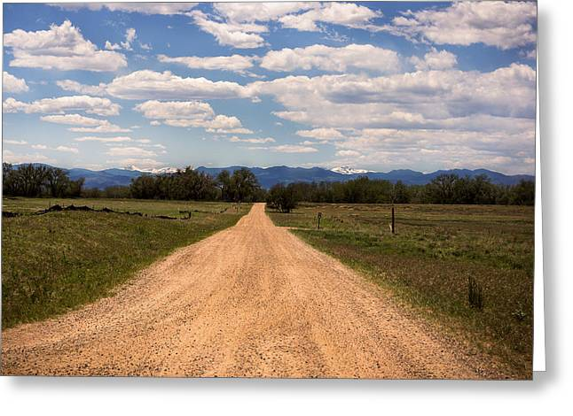 The Long Way Home Greeting Card by Linda Storm