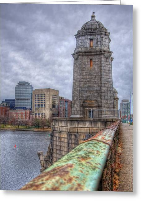 The Longfellow Bridge - Boston Greeting Card