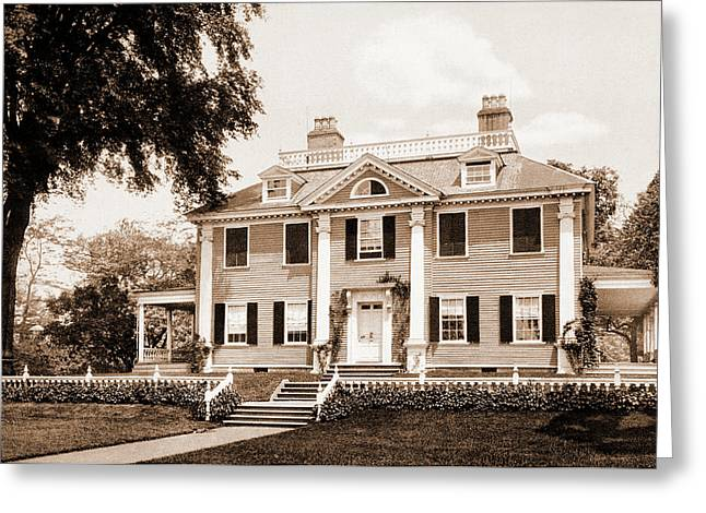 The Longfellow House, Cambridge, Longfellow, Henry Greeting Card