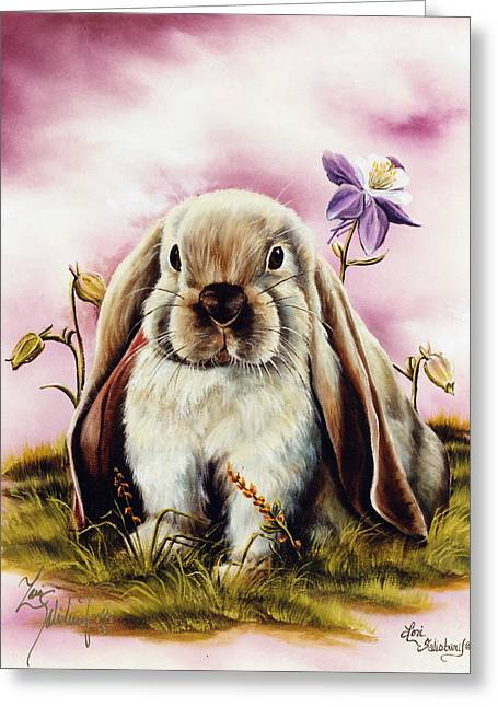 The Lop Greeting Card