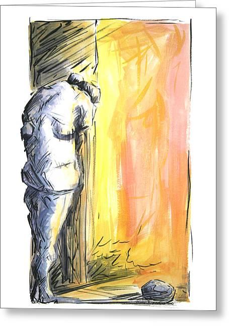 The Loss 2010 Greeting Card by Thomas Griffith