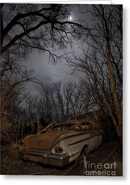 The Lost American Dream Greeting Card by Keith Kapple