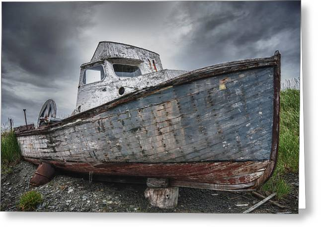 The Lost Fleet Dry Dock Greeting Card