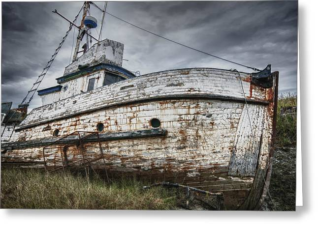 The Lost Fleet Weathering The Storm Greeting Card