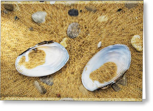 The Lost Freshwater Pearl Michigan Greeting Card