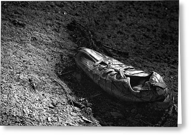 The Lost Shoe Greeting Card by Jason Politte