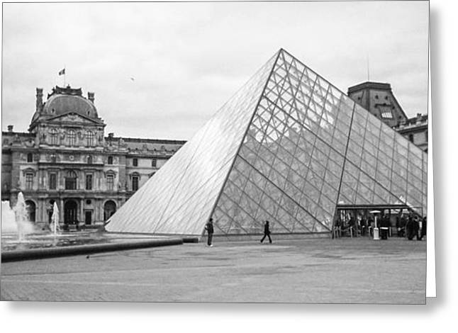 The Louvre  Greeting Card by Steven  Taylor