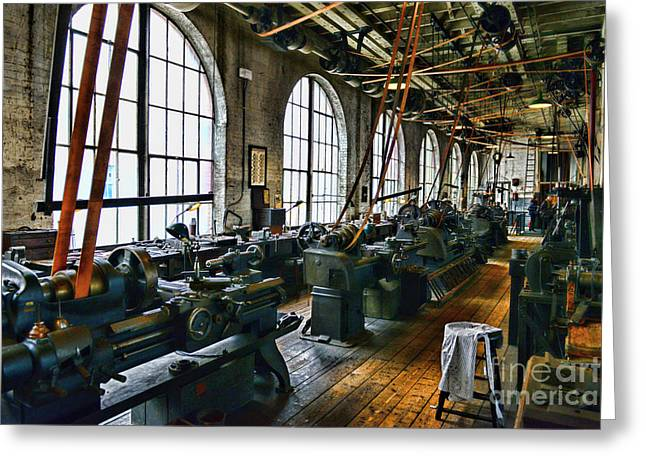 The Machine Shop Greeting Card