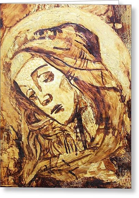 The Madonna Of Medjugorje,  Greeting Card