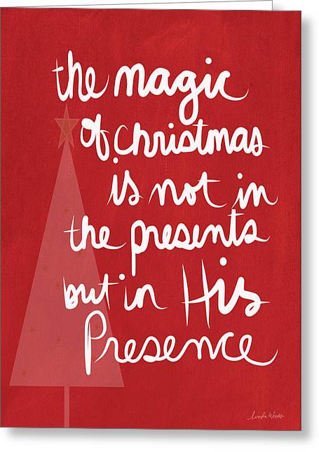 The Magic Of Christmas- Greeting Card Greeting Card