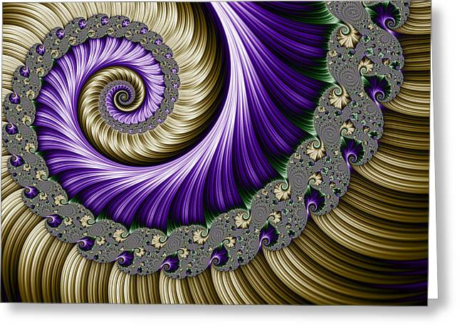 The Magic Shell Greeting Card by Mary Machare