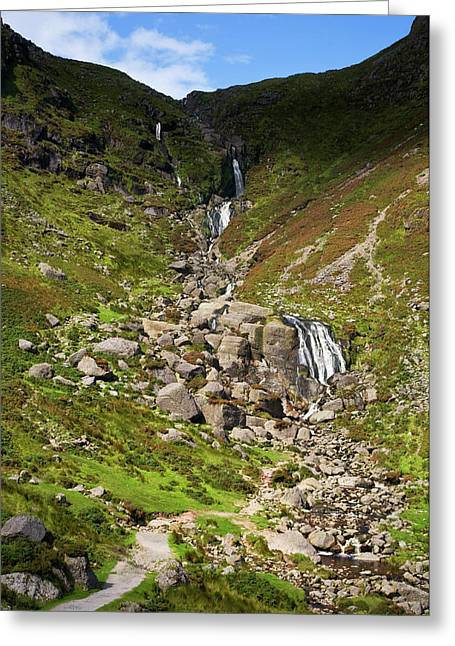 The Mahon Falls, Comeragh Mountains Greeting Card