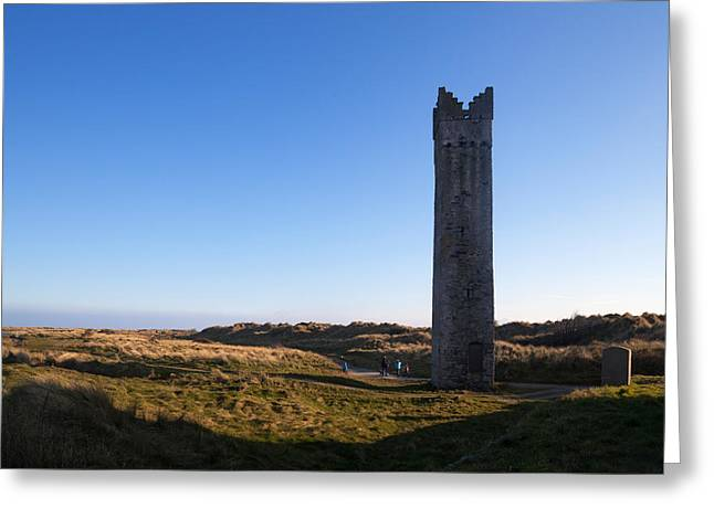 The Maiden Tower, Mornington, County Greeting Card by Panoramic Images