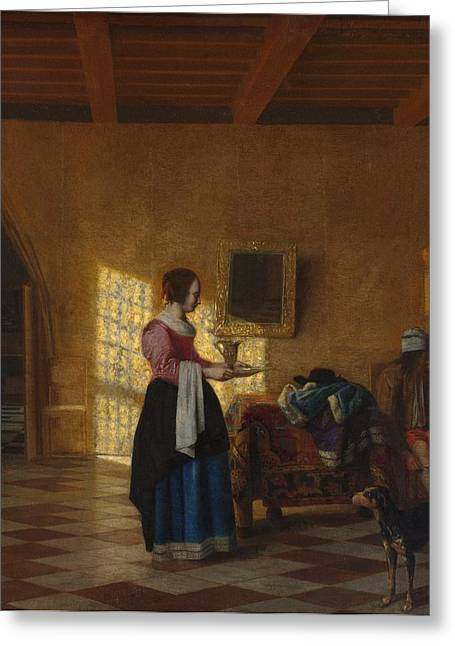 The Maidservant Greeting Card