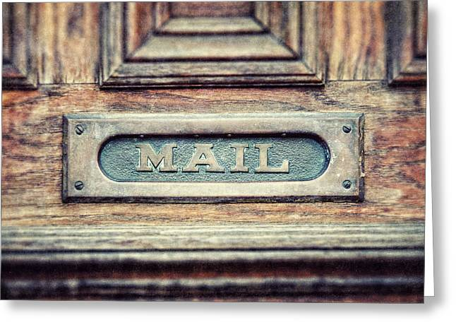 The Mail  Greeting Card by Lisa Russo