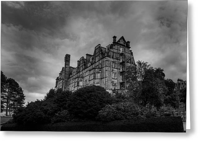 Greeting Card featuring the photograph The Majestic Hotel by Dennis Dame