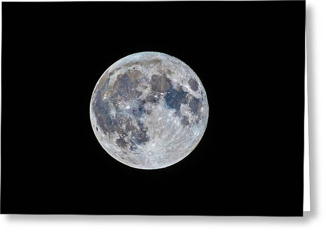 The March Mini-moon Greeting Card by Alan Dyer