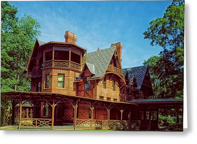 The Mark Twain House - Hartford Greeting Card by Mountain Dreams