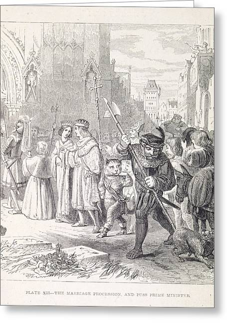 The Marriage Procession Greeting Card