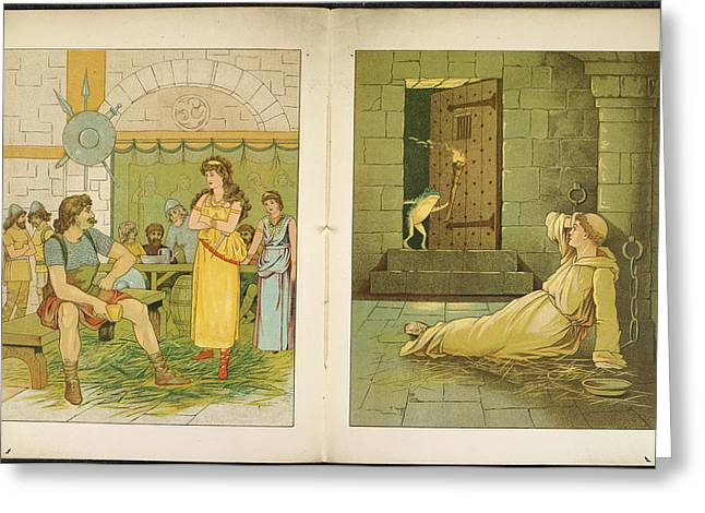The Marsh King's Daughter Greeting Card by British Library