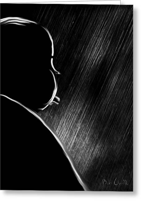 The Master Of Suspense Greeting Card by Bob Orsillo
