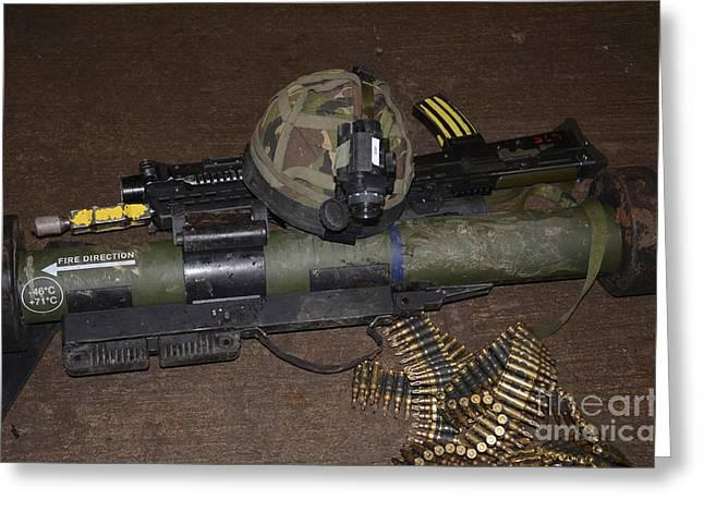 The Matador Light Anti-tank Weapon Nlaw Greeting Card