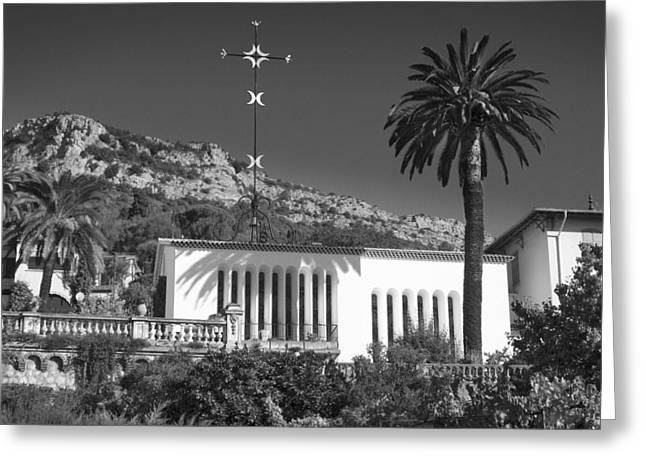 Greeting Card featuring the photograph The Matisse Chapel Vence by Richard Wiggins