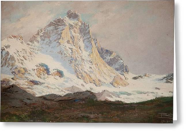 The Matterhorn, 1910 Greeting Card