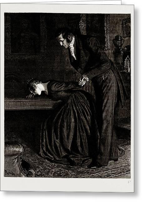 The Mayor Of Casterbridge, Drawn By Robert Barnes, Written Greeting Card