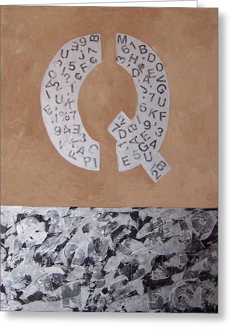 The Meaning Of Life Greeting Card by Krista Ouellette