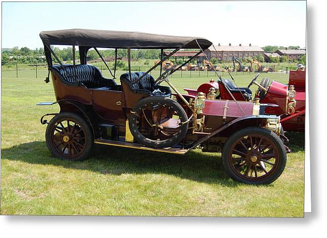 The Mercer Touring Sedan Greeting Card