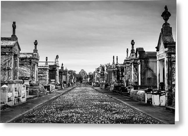 The Metairie Cemetery Greeting Card