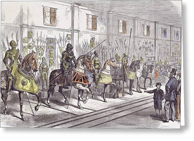 The Meyrick Collection Of Armour In The South Kensington Greeting Card by English School