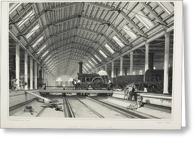 The Midland Railway Greeting Card by British Library