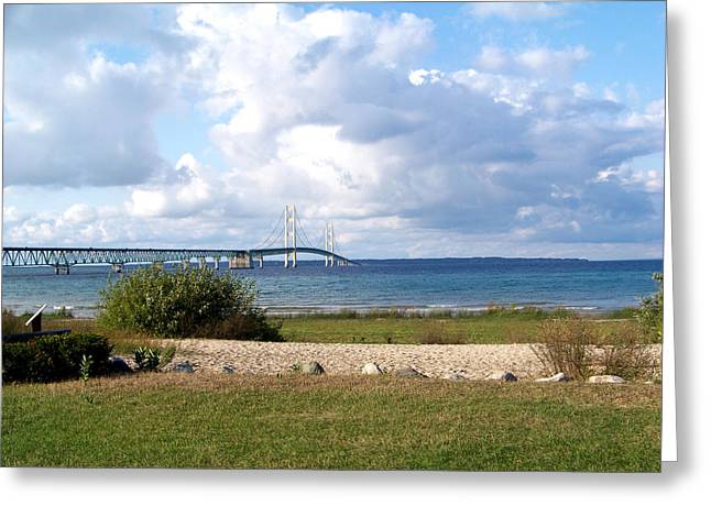 The Mighty Mac Greeting Card by Jennifer  King