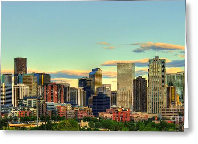 The Mile High City Greeting Card