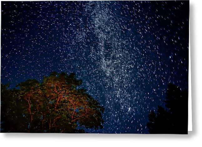 The Milky Way 2 Greeting Card by Steve Harrington