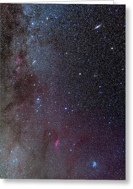 The Milky Way, From Andromeda Greeting Card by Alan Dyer