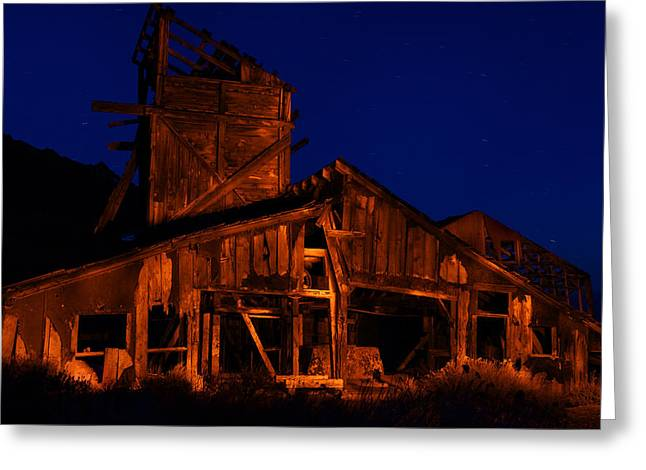 The Mill Greeting Card by Greg Thelen