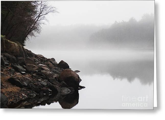 The Mist Greeting Card by Dana DiPasquale