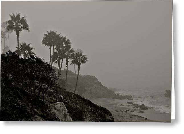 The Mists Of Laguna Beach Greeting Card by Kirsten Giving