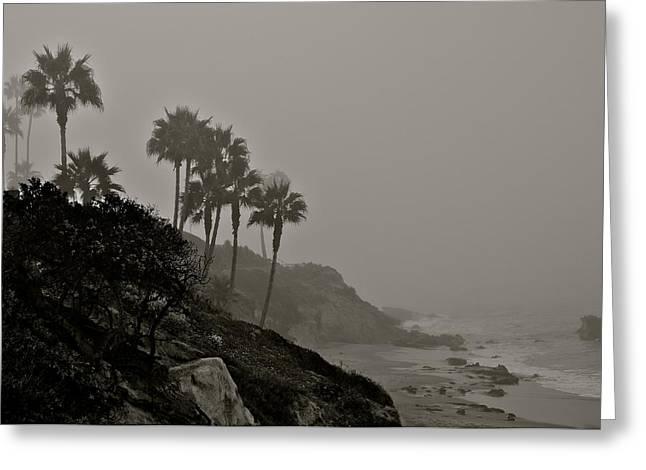 The Mists Of Laguna Beach Greeting Card